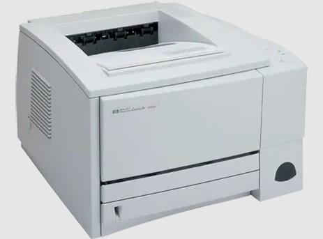 Download HP LaserJet 2200 Driver Windows