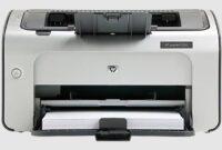 Download HP LaserJet P1006 Driver Windows